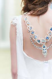 wedding backdrop necklace 29 back wedding necklaces the trend right now