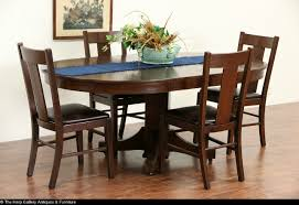 enchanting arts and crafts dining room table with intended for