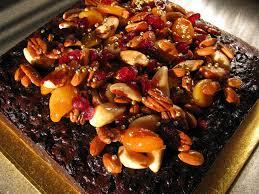 christmas cake with nuts u2013 happy holidays