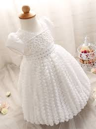fashion newborn dress with for infant pageant wedding