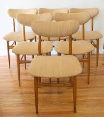 decor stunning mid century wooden danish modern furniture designs astonishing mid century modern dining chairs with lovable natural seat and back also with footrest design