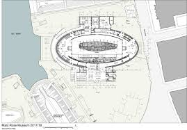 ship floor plans wilkinson eyre architects u0027 mary rose museum evokes ship form