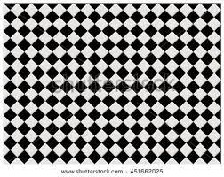 black white shine square tile pattern stock vector 451662025