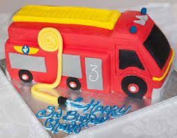 firetruck cake engine cake truck boys birthday cake edinburgh glasgow