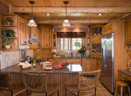Log Home Kitchen Cabinets - how to choose kitchen cabinets for your log home the log home