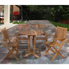 Miami Bistro Chair Square Bistro Sets Patio Dining Furniture The Home Depot
