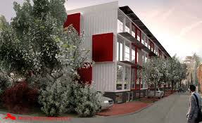 will the idea to make shipping container housing spread in d c
