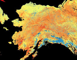 Snow Coverage Map Modis Snow Cover Climatology For Alaska Land Imaging Report Site