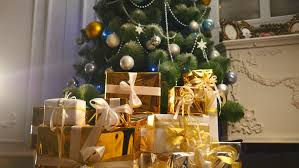 Christmas Decorations Under The Tree by Gifts And Toys Under The Christmas Tree Stock Footage Video