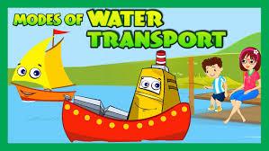 modes of transportation for children water transportation for