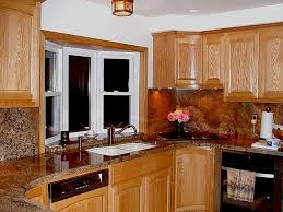 kitchen window over sink stainless steel sink swing out trash can