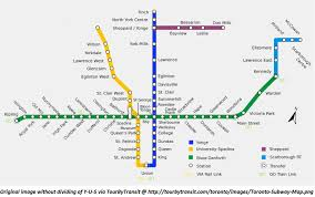 Dc Metro Blue Line Map by One Simple Way The Ttc Can Fix Signage Visually Separating Yonge
