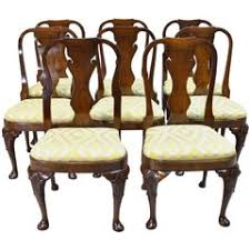 queen anne dining room chairs 36 for sale at 1stdibs
