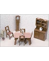 Dollhouse Dining Room Furniture Get The Deal Greenleaf Dollhouses Dining Room Furniture Kit 7202