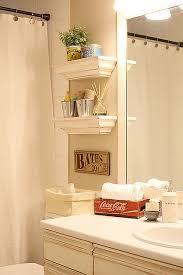 diy bathroom decor ideas for small bathroom small shelves