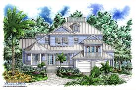 Homes For Narrow Lots Olde Florida Home Plans Stockcustom Old Cracker Style Hahnow