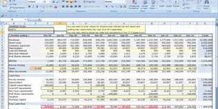 Discounted Flow Analysis Excel Template Personal Flow Excel Template Flow Excel Spreadsheet