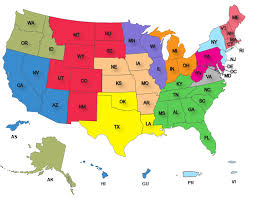 map of usa states denver u s department of labor owcp dfec regs dfec district offices