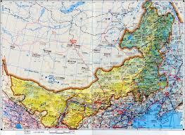 Mongolia On World Map Inner Mongolia Map Inner Mongolia Map Hohhot Map Inner