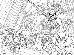 printable pictures super hero coloring pages 36 in free colouring