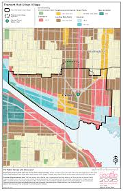 Map Of Seattle Neighborhoods by Wallhala Wallingford Community Council
