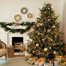 tree gold decorations designcorner