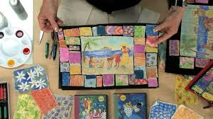 painted story quilt lesson plan youtube