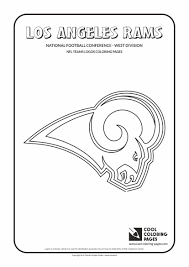 football coloring pages nfl logos coloring pages