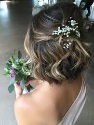 Bob Frisuren Hochzeit by Hochzeitsfrisuren Kurze Haare Halboffen Und Lockig Frisuren