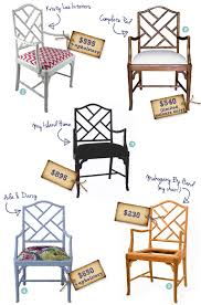 the painted hive bamboo chippendale chair makeover