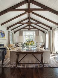 Living Room Ceiling Beams Exposed Beam Ceilings Ideas Beamed On Fireplace Beams Living Room