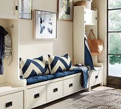 entryway u0026 storage benches pottery barn