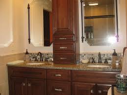 stone glass cabinet hardware bathroom design traditional