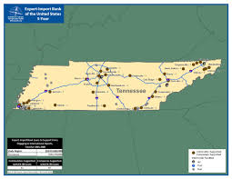 Tennessee State Map by Itts Tennessee State Profile