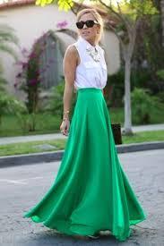 Long Flowy Maxi Skirt Yellow Plain Double Deck Loose Selling Elegant Floor Length