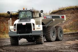 scania engines power fuel efficient articulated dump trucks
