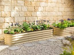 Corrugated Metal Garden Beds Metal Planters From Australia Corrugated Steel Planters