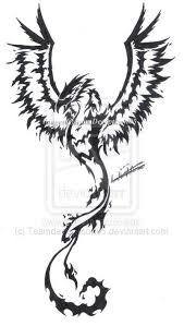 home design graceful mens phoenix tattoo designs men design home