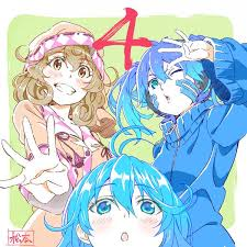 shaft anime crossovers madoka magica monogatari nisekoi and