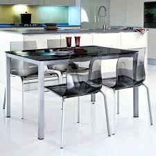 chaise de cuisine transparente table et chaise cuisine les chaises transparentes et