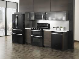 Dark Gray Kitchen Cabinets by Dark Grey Kitchen Cabinet Color Ideas With Black Appliances And