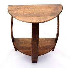 Round Foyer Table by Half Round Hall Table Plans Starrkingschool