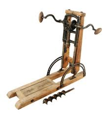 Used Woodworking Machinery For Sale In Germany by Hand Powered Drilling Tools And Machines Low Tech Magazine