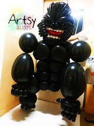 gorilla balloon balloon king kong gorilla size sculpture 2 singapore