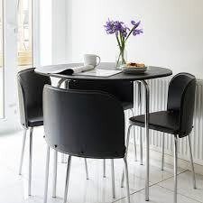 dining room table for small spaces next home dining space saving table and chairs oak dining table and