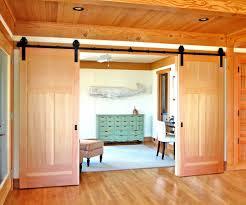 Pine Barn Door by Phoenix Double Barn Doors Hall Farmhouse With Hallway Bench