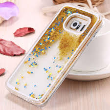 glitter audi s6 s6 edge moving star bling quicksand glitter case for samsung