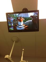 Ceiling Mounted Tv by We Care About Kids Renaissance Dental Of Fort Worth