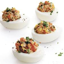deviled egg dishes smoked salmon deviled eggs recipe finecooking