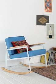 Blue Wicker Rocking Chair Furniture Comfortable Yellow Target Rocking Chair On Cozy Pergo